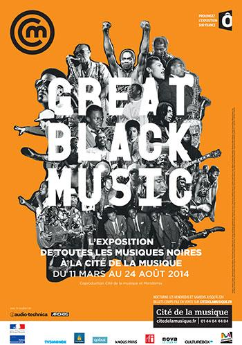 GREAT BLACK MUSIC affiche