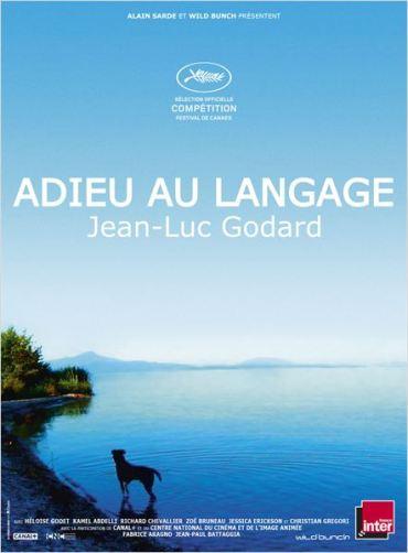 ADIEU AU LANGAGE affiche